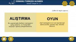 Osmanlı Türkçesi Alfabesi Dijital Eğitim İçeriği