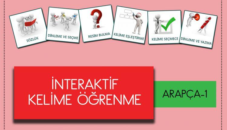 Arapça - İnterkatif Kelime Öğrenme