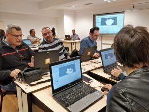 Murat Yılmaz hocamızla beraber UNITY3D ile Oyun Tasarlama Atölyesi